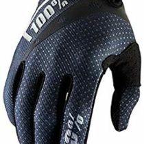 100% Ridefit Unisex Adult Mountain Bike Glove,Large-Black