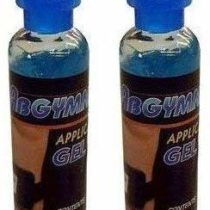 2x100ml Original ABGYMNIC Highly Conductive Gel for TENS, EMS and other Toning Pad Systems