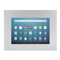 TabLines TWE060QS Tablet Wall Fitting for Amazon Fire HD 8 Silver