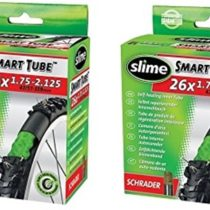 2 x Slime Bike Inner Tubes 26 x 1.75-2.125 Mountain Bikes Schrader Valves – Slime Filled To Instantly Seal And Repair Punctures