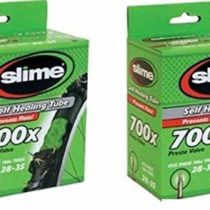 2 x Slime Bike Inner Tubes 700 x 28-32c Presta Valves – Slime Filled To Instantly Seal And Repair Punctures