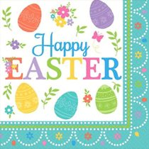 amscan 511591 33 cm Lovely Easter Luncheon Napkins