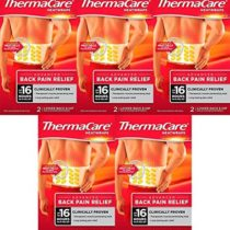 (5 Pack) – ThermaCare Lower Back Heat Wrap (5 Bundle)
