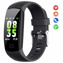【2019 Updated Version】Fitness Trackers with Heart Rate Monitor, Activity Trackers Watch with Blood Pressure Monitor, Sleep Monitor, IP67 Waterproof Pedometer, Calorie Counter for Men Women and Kids