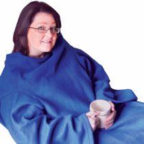 Aidapt Blue Sleeved Blanket