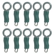 10 Set Lead Clips and Locking Tubes Carp Fishing Terminal Tackle Accessories