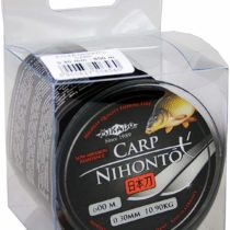 """'""""Nihonto 600M Carp Monofilament Extra Smooth Fishing Line Carp Line Feedersc Cord Available from ø0,22to 0.40mm Black Mat"""