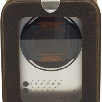 Friedrich 23 Real Leather Watch Winder for Automatic Watches, 3Program Segments, Cubano