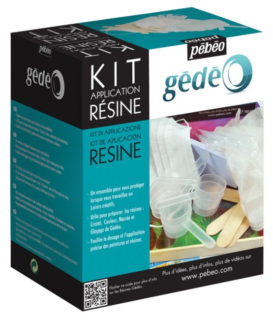 Gedeo Resin Application Set, White