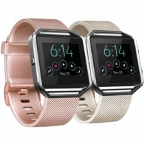 ATUP Straps Compatible with Fitbit Blaze Wrist Strap (2 Pack), Classic Replacement Fitbit Blaze Strap [No Frame]
