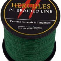 1000m 1094yds Green 6lbs-100lbs Hercules Pe Dyneema Braid Fishing Line 4 Strands (20lb/9.1kg 0.20mm)