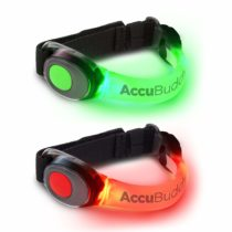 AccuBuddy Safety Flashing LED Armband–Bright Bold Jogging Light and suitable for all outdoor sports