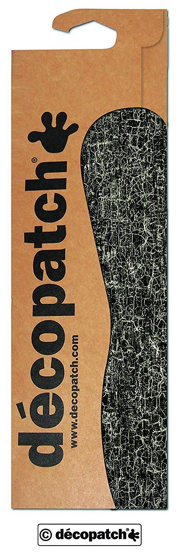 décopatch Black Crackle Paper, 30 x 40 cm, Pack of 3 Sheets